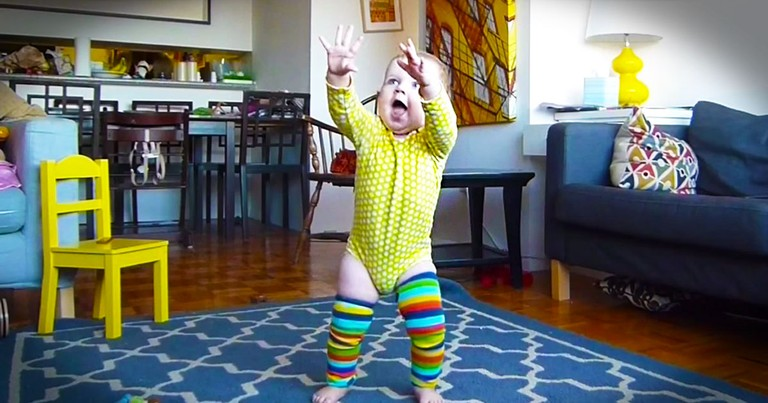 This Cutie's About To Do Something So Simple And So EPIC! She'll Melt Your Heart In 1:21 Flat--Awww!