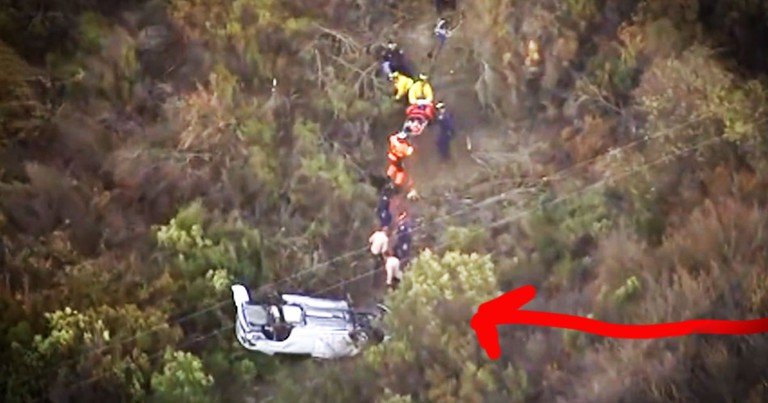 This Woman Was Trapped In A Sink Hole For 18 Hours. You Won't Believe How They Found Her!