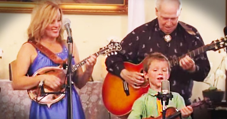 Here Is One 7-Year-Old Fiddler You've GOT To Hear! This Version Of 'Amazing Grace' Is Beyond Awesome