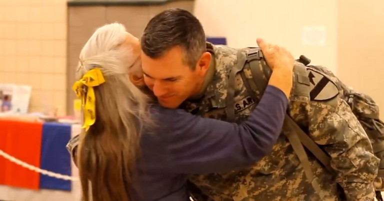 Here Is A Woman Doing Something AMAZING For Our Troops. What She Says At 2:00 Hit Me Hard!