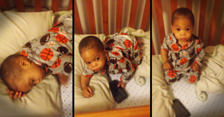 How This Little Man Wakes Up From His Nap Is Priceless. THIS Is Guaranteed To Make You Happy!