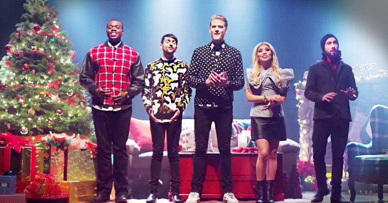 pentatonix perform a cappella thats christmas