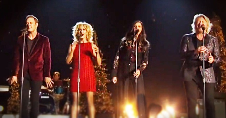 Little Big Town Sings A Toe-Tapping Version Of 'I Pray On Christmas'