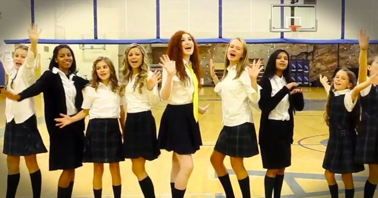 Girls Share Message Of Respect And God Thru A Pop Song Parody