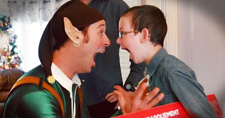 A Little Christmas Magic Brings Joy To Sick Kids