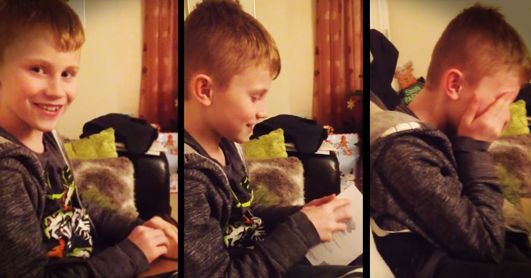 Boy Has Tearful Reaction To Baby News