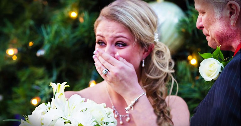 Woman Gets An AMAZING Surprise During Photo Shoot
