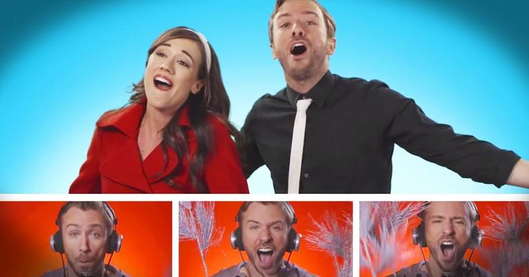 Amazing A Cappella Frozen Medley