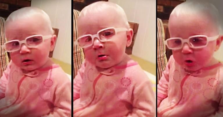Sweet Baby Feels So Deeply When Mom Sings 'Amazing Grace'