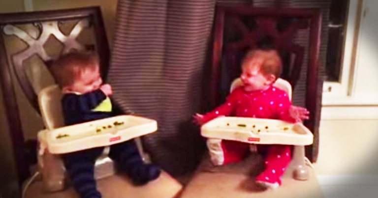 Adorable Twins Play The Cutest Game Of Peekaboo!