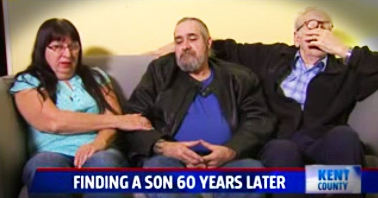 60 Year Old Secret Reunites An 81-Year-Old Father With His Son