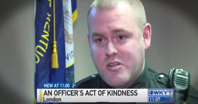 Officer Stuns Shoplifter With Act Of Kindness