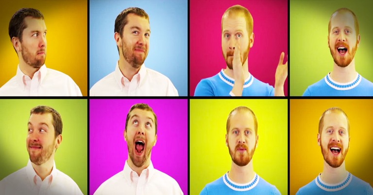Funny A Cappella Parody MAY Make You Like Snow--LOL!