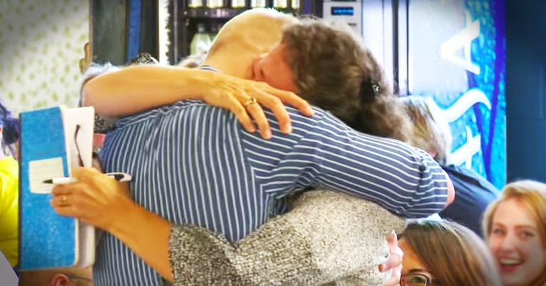 Marine's Emotional SURPRISE Reunion With Family In Church