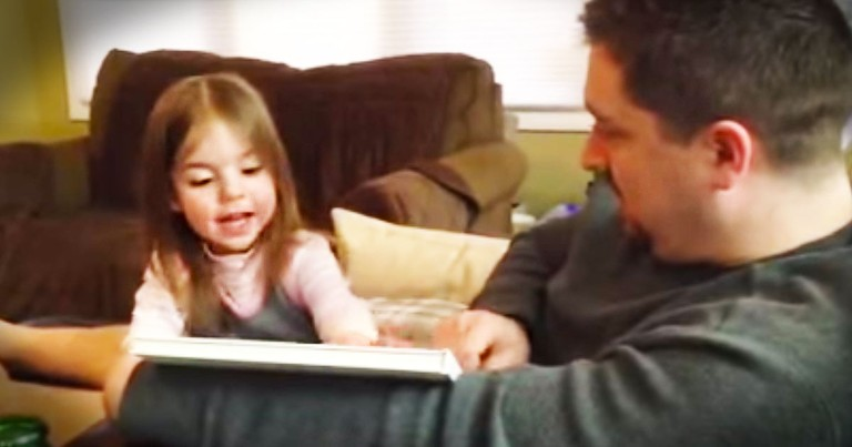 She's Going To Be A Big Sister--But She Has Some News Of Her Own--LOL!