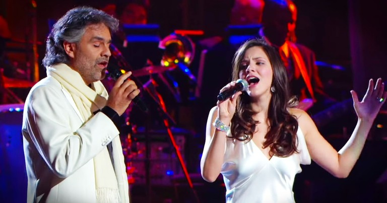 The Prayer by Katharine McPhee and Andrea Bocelli - Stunning!