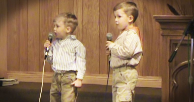 Brothers Sing The CUTEST 'He Arose' For Easter
