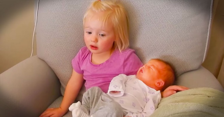 Apparently, This 2-Year-Old Thinks Her Mom Has 'Too Much' Of A Good Thing--LOL!