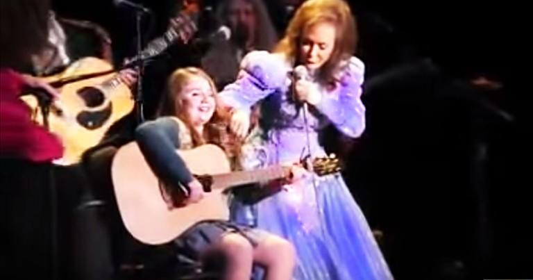 She's Loretta Lynn's Grandbaby, And She Can SING!