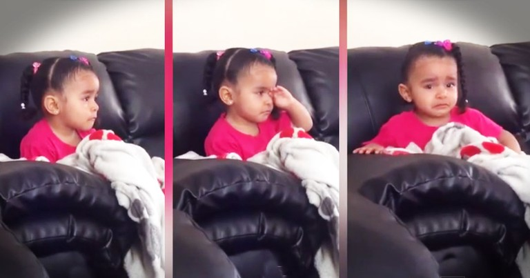 When She Saw This, It Brought This Sweet Girl To TEARS--Aww!