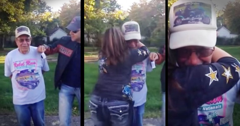 What These Sisters Gave Their 85-Year-Old Dad Surprised Me. But His Reaction Melted My Heart!