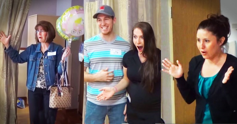 Couple Surprises Family With EPIC Secret About Their Baby!