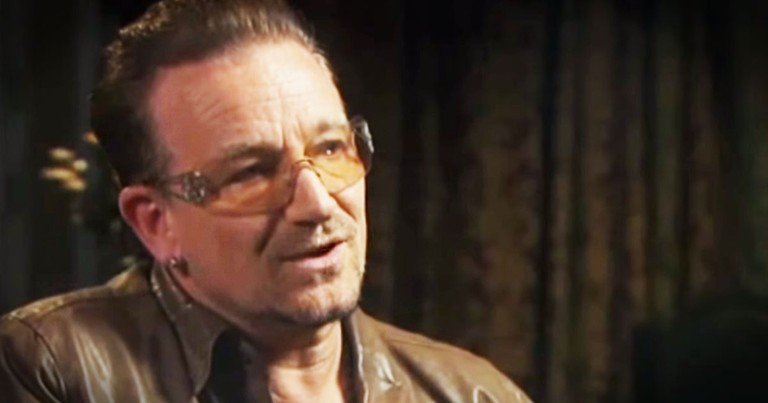 Bono talks about jesus