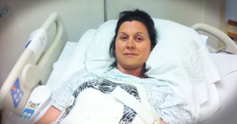 After The 'Monster' Nearly Killed Her, She Opened A Box And Got A Sign For A MIRACLE!