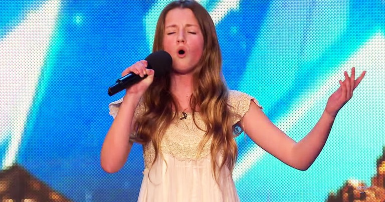 What This 12-Year-Old Did During Her Audition Had EVERYONE On Their Feet!