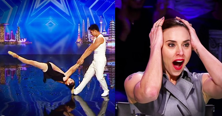 This Is No Normal Dance Routine--What A Mind-Blowing Audition!