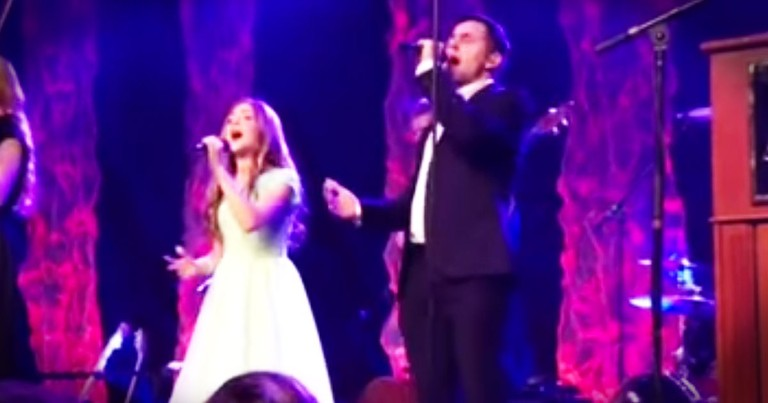 Lexi Walker & David Archuleta Sing 'The Prayer'