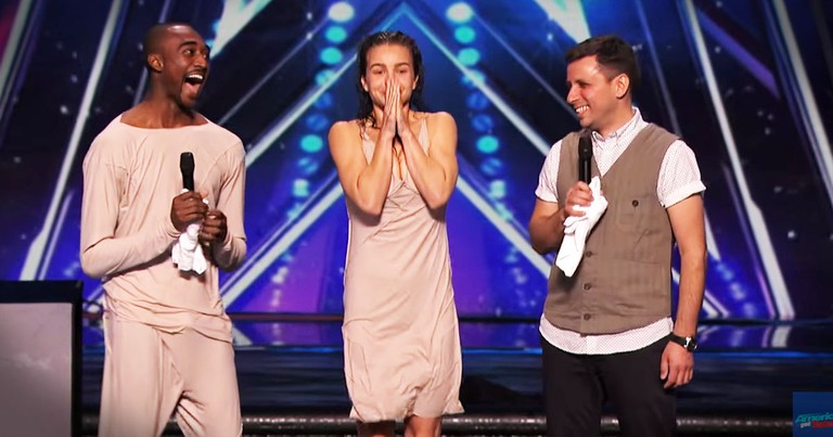 Judge Can't Contain Himself After THIS Dance Audition!