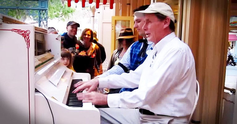 Three Strangers Joined Him At The Piano And My Mind Was Blown!