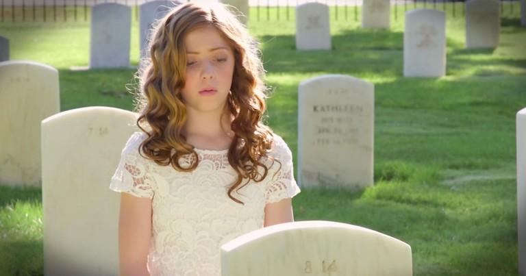 Lexi Walker Beautifully Sings 'America The Beautiful'