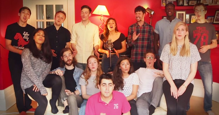 A Cappella Group's Take On A 70's Hit Took My Breath Away!