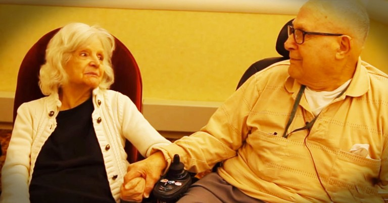 Alzheimer's Robbed Her Memory, But Couldn't Take Away The Love Of Her Life--WOW!