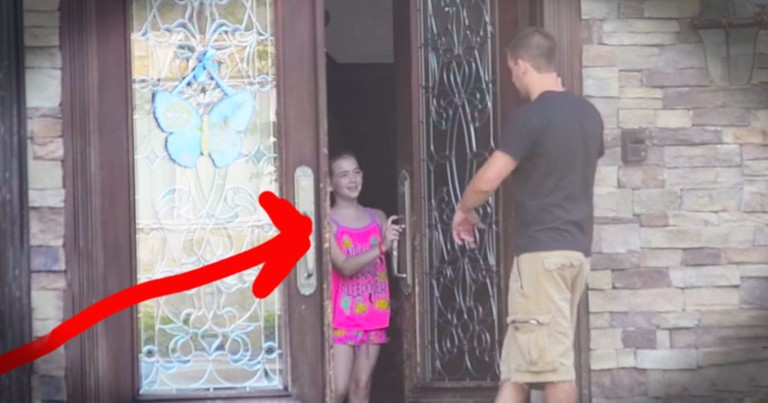 Would YOUR Child Open The Door For A Stranger? You May Be Surprised!