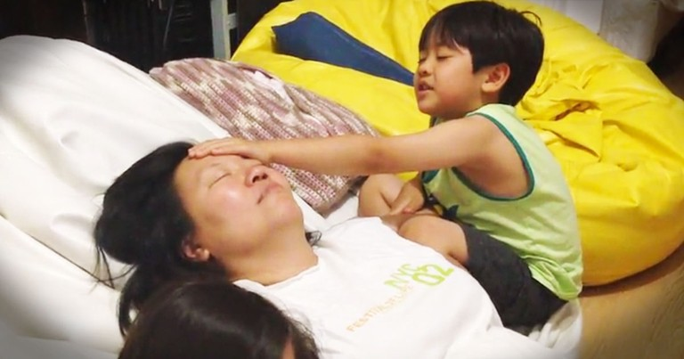 This 5-year-old's Prayer For His Momma Is Too Cute!