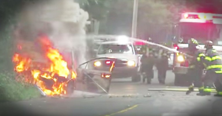 How This Boy With Autism Saved His Mom From A Burning Car Is Truly Heroic!
