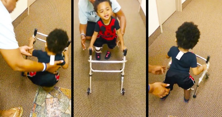 Doctors Said to End Her Pregnancy. But Now This Miracle Boy Is Taking His 1st Steps for Jesus!