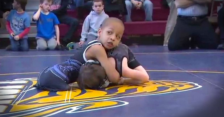 Now THIS Legless, Homeless Wrestler Knows What It Means To Get Your Strength From The Lord!