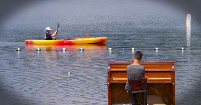 He Quit His Job To Push A Piano Across The Globe!