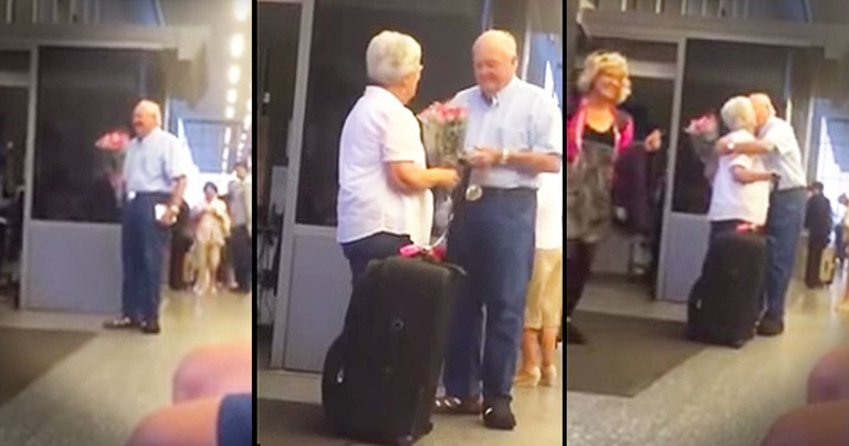 He Waited With Flowers. And What Happened Next Made My Heart Melt!