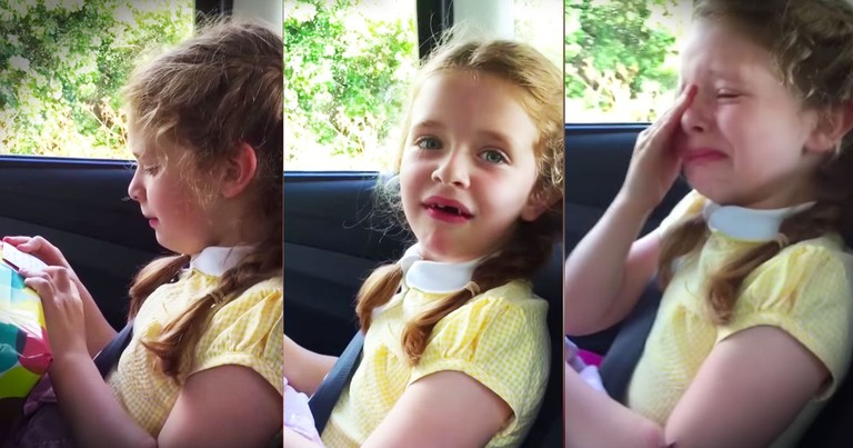 She's About To Be A Big Sister And Her Reaction To The News Is Precious