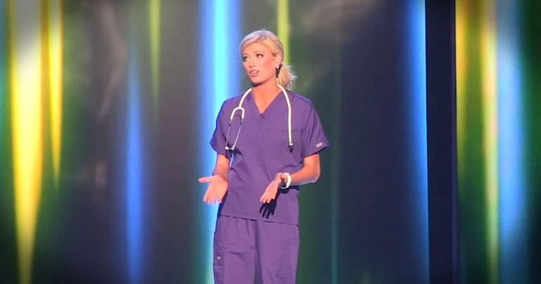 Pageant Contestant And Nurse Had Me In Tears