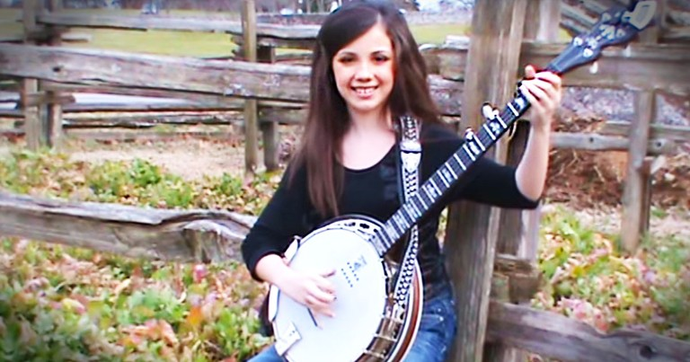 She's Only 11 Years Old, But She's A Banjo MASTER!