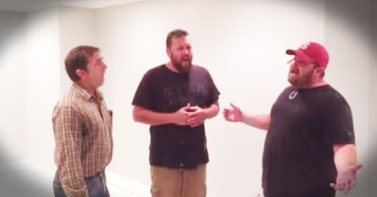 Contractors Sing Beautiful Harmony To The Lord