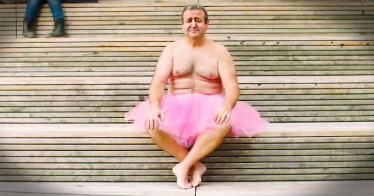 A Man in a Tutu is Fighting Breast Cancer, One Photo at a Time