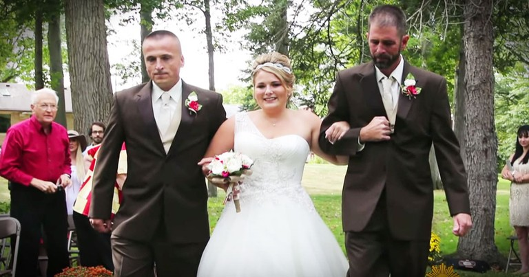 Her Dad Stopped Walking Her Down The Aisle. The Reason WHY Is Amazing!