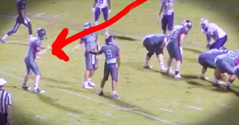 Young Man With Autism Makes A Touchdown That'll Touch Your Heart